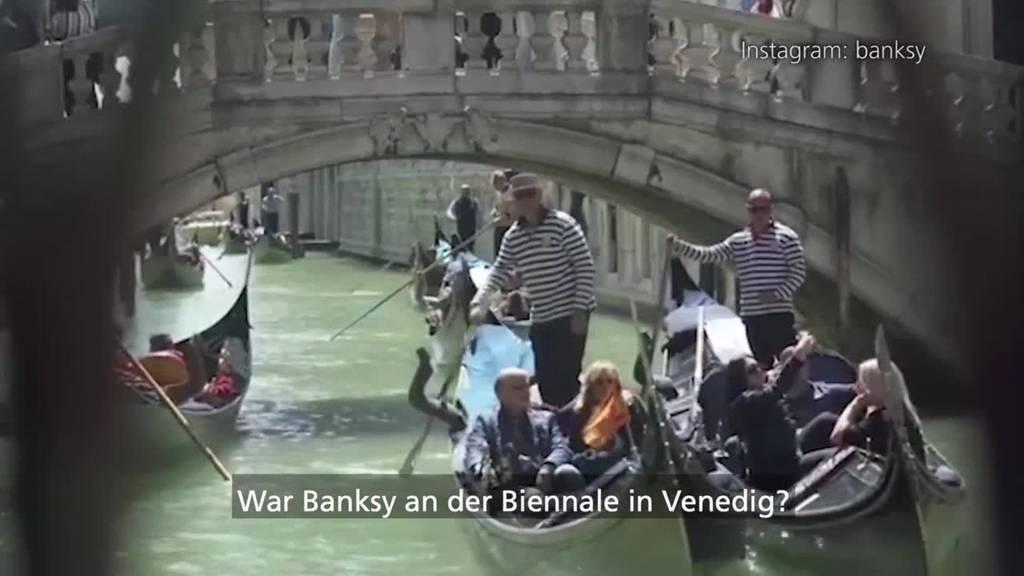 War Banksy an der Biennale – und niemand hat's gemerkt?!