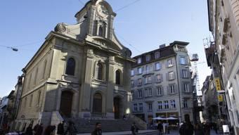 Die besetzte Lausanner Kirche St. Laurent