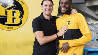 Ein erfolgreiches Tandem: Trainer Gerardo Seoane und sein Goalgetter Jean-Pierre Nsame