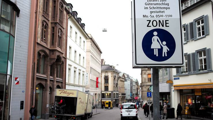 Die Freie Strasse soll werden, was sie streng genommen schon immer war: Eine Fussgängerzone.