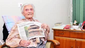Die älteste Schweizerin feiert ihren 111. Geburtstag