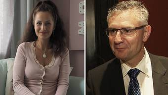 Nancy Holten wehrt sich gegen Kuhglocken, Andreas Glarner ist SVP-Hardliner und durch und durch Eidgenosse. Eigentlich klar, wer die Schweizer Nationalhymne besser kennen müsste ...