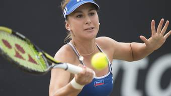 Belinda Bencic nun gegen Madison Keys