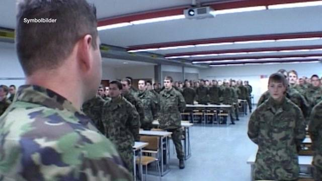 Explosiver Diebstahl in Aarauer Rekrutenschule