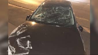 Flucht vor Polizeikontrolle endet mit Crash auf Aarauer Bahnhofstrasse: So berichtet TeleM1 im Juli 2019.