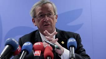 Von Christoph Blocher in die Nazi-Ecke gestellt: Jean-Claude Juncker.