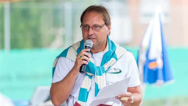 Milek Kowalski, Präsident des TC Schützenmatt Solothurn, engagiert sich auch bei der Organisation des Schützenmatt Cups.