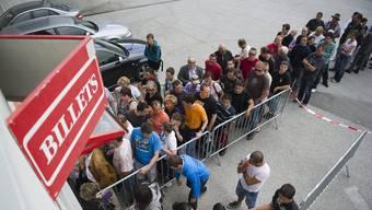 Die Nachfrage nach Tickets ist gross. Für das Cupspiel in Wohlen soll der Vorverkauf genutzt werden (Symbolbild).
