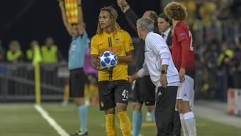 YB gegen Manchester United - Kann der Schweizer Meister eine bessere Figur abgeben als er dies im Hinspiel tat?