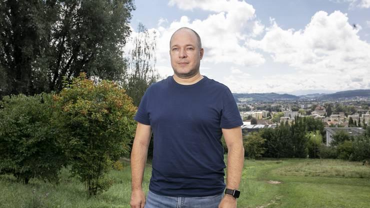 Martin Lötscher (48) ist bereit, ein unabhängiges Unterentfelden weiter mitzutragen.
