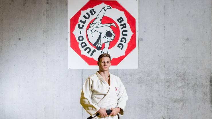 Judoka Michael Kistler im Dojo in der Mülimatt, wo er viel Zeit verbringt. Sandra Ardizzone