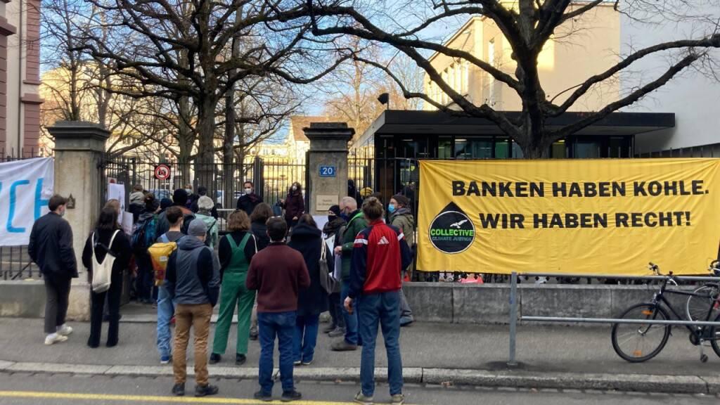 Klimaaktivisten vor Basler Strafgericht freigesprochen