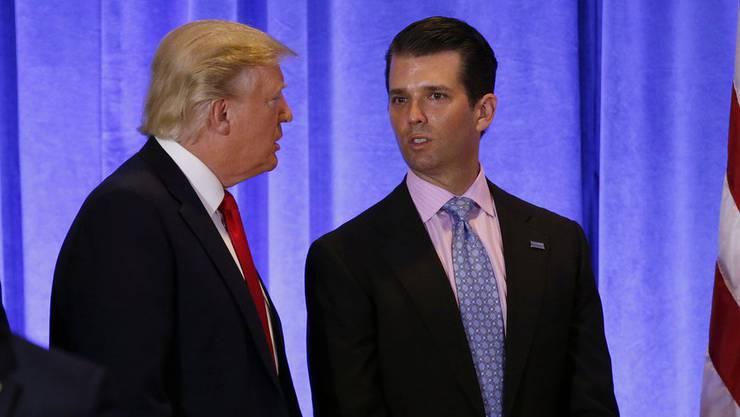 Trump senior und junior lieben Twitter.