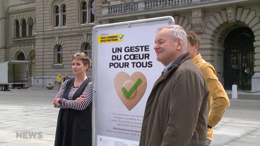 Promis lassen sich impfen: BAG lanciert neue Impfkampagne mit bekannten Gesichtern
