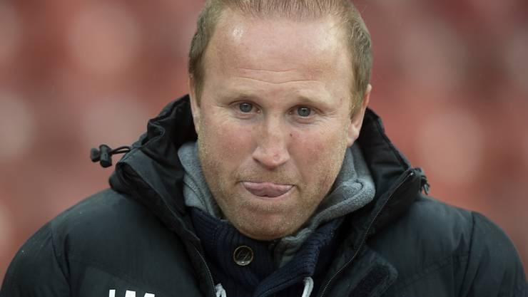 FCZ-Trainer Ludovic Magnin hat trotz der negativen Serie weiterhin Vertrauen in seine Mannschaft