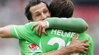Wolfsburg jubelt über seinen ersten Saisonsieg