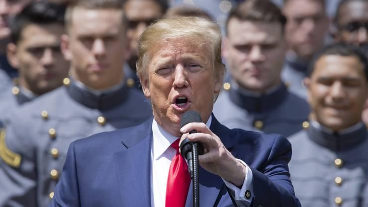 Offener Brief: Knapp 500 ehemalige US-Staatsanwälte halten den Vorwurf der Justizbehinderung gegen US-Präsident Donald Trump für erwiesen. (Archivbild)