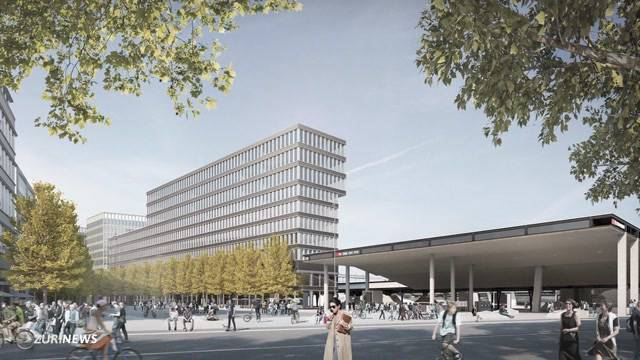 Grundsteinlegung für Europaplatz