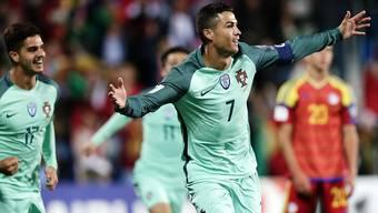 Erlöste Portugal in der zweiten Halbzeit: Superstar Cristiano Ronaldo