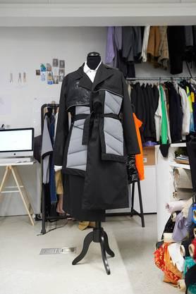 Ein Kimono mit Leuchteffekt. Bild: madevisible/AnjaWurm