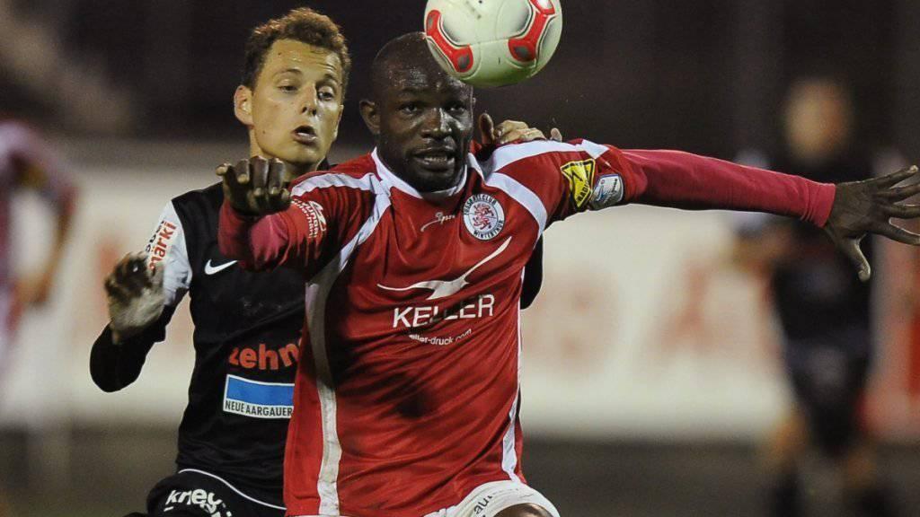 Rettet dem FC Winterthur mit zwei Treffern in Schaffhausen immerhin einen Punkt: Patrick Bengondo (Archivbild)