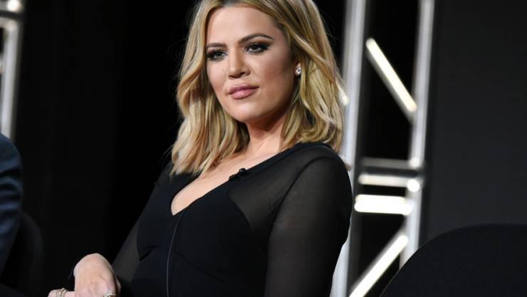 """Hat sich den Namen """"True"""" für ihre Tochter ausgesucht: Reality-TV-Sternchen Khloé Kardashian. (Archivbild)"""