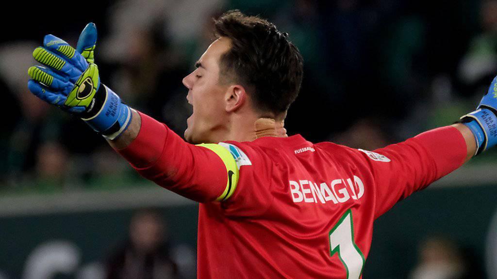 Diego Benaglio ist nicht mehr die Nummer 1 beim VfL Wolfsburg