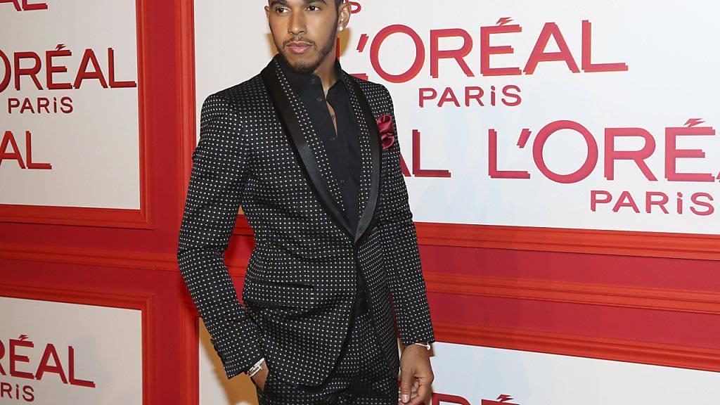Stil hat der Formel-1-Rennfahrer Lewis Hamilton, aber ob das reicht für eine Karriere als Modedesigner ? (Archiv 8. März).