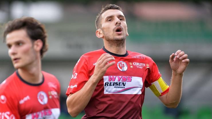Der FC Wangen mit Bledar Binaku musste in Basel bei den Black Stars einen weiteren Rückschlag hinnehmen.