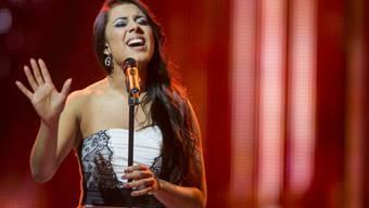 Melanie Rene bei ihrem Auftritt am 31. Januar (Archiv)