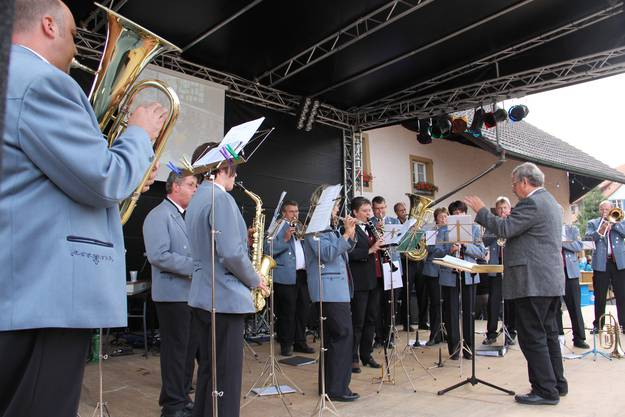 So schön war das Dorfplatzfest in Wölflinswil