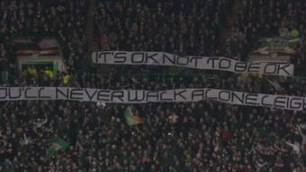 Depressionen im Fussball sind keine Seltenheit: Die Celtic-Fans unterstützen ihren Stürmer