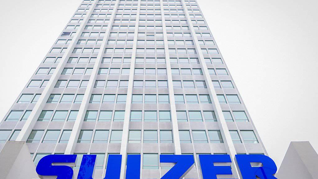 Der Winterthurer Traditionskonzern Sulzer bleibt 2018 auf Wachstumskurs und macht einen Gewinnsprung. (Archiv)