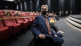 Filmfestival-Präsident Marco Solari bei der Eröffnung der 73. Ausgabe in Locarno.