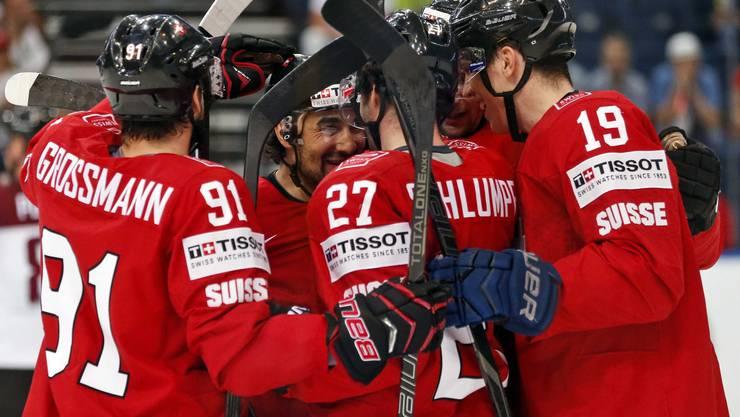 Die Schweizer verabschieden sich mit einem Sieg von der WM.