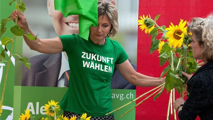 «Wir sollten unbeirrt an unseren Themen arbeiten»: Mit diesem Rezept sollen die Grünen laut ihrer Nationalrätin Maya Graf den Wahlerfolg von 2011 (Foto) wiederholen.
