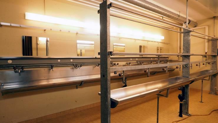 80 Asylsuchende könnten in der Alst-Anlage in Olten Platz finden. Diese soll als mittelfristige Reserveunterkunft dienen, heisst es beim Kanton.