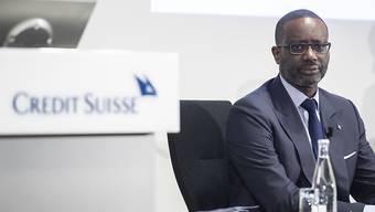 Die Credit Suisse hat ihrem Firmenlenker Tidjane Thiam für 2018 eine Vergütung von fast 13 Millionen Franken bezahlt, ein Plus von 30 Prozent gegenüber dem Vorjahr. (Archiv)