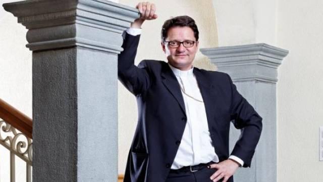 Der junge Bischof von Basel, Felix Gmür. Foto: André Albrecht - az