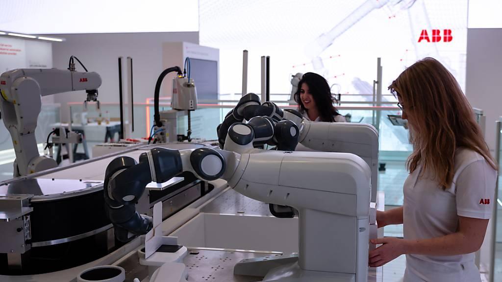ABB baut sein Robotergeschäft mit einem Zukauf in Spanien aus. (Archivbild)