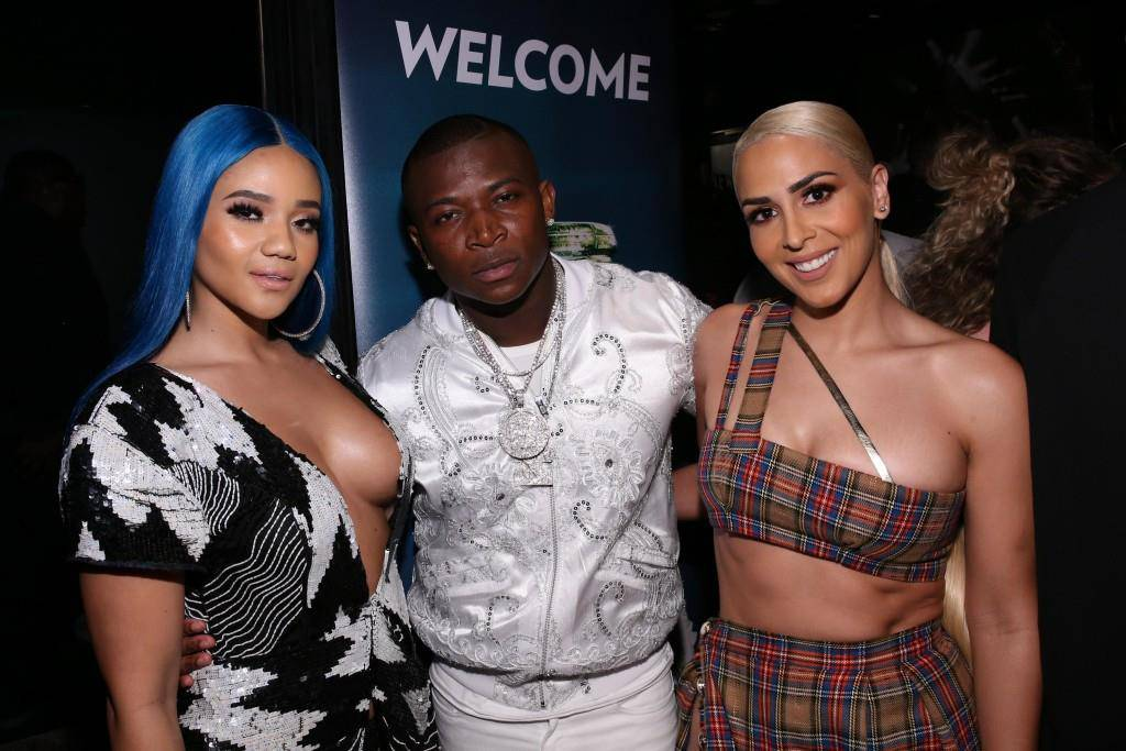 Steph Lecor, O.T. Genasis und Veronica Vega. (© Getty Images)