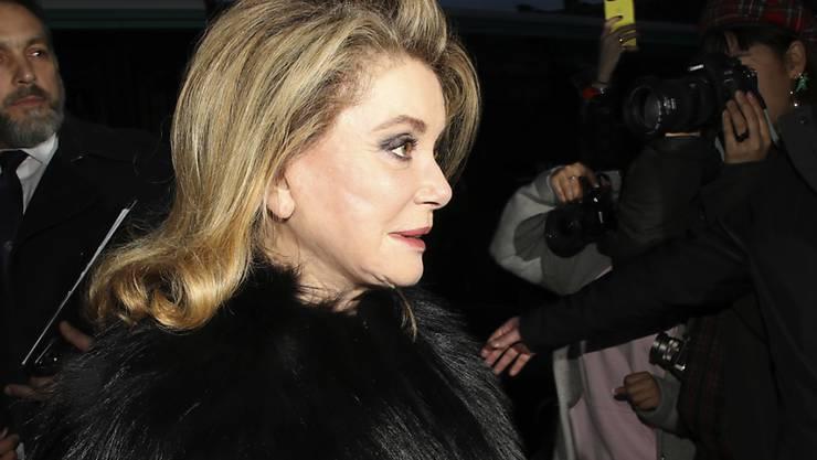 Die französische Schauspielerin Catherine Deneuve wird für ihr Lebenswerk mit dem Praemium Imperiale geehrt. Diesen höchsten japanischen Kunstpreis erhält auch der italienische Dirigent Riccardo Muti. (Archiv)