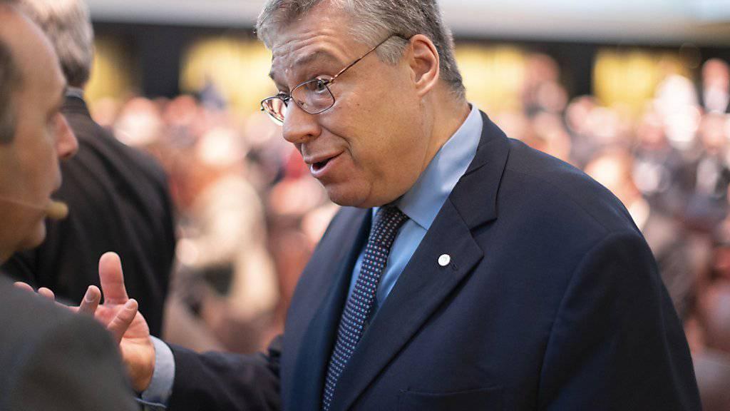Bilaterale sichern und die Schweizer Neutralität verteidigen: der Tessiner Ständerat und CVP-Fraktionschef Filippo Lombardi. (Archivbild)