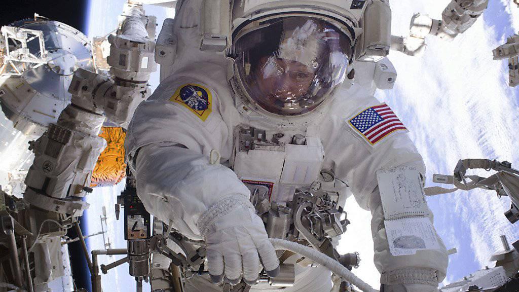 Fliegt wieder heim auf die Erde: US-Astronaut Peggy Whitson.