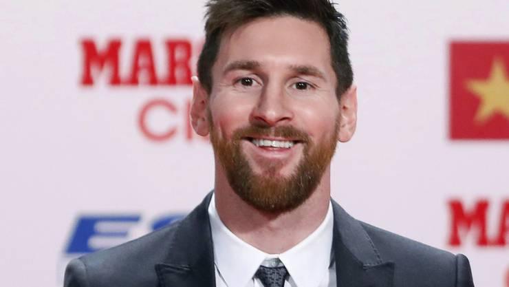 Lionel Messi wurde bereits zum vierten Mal mit dem goldenen Schuh ausgezeichnet