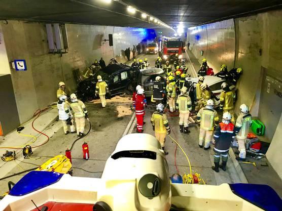 Der Unfall ereignete sich im Arlbergtunnel.