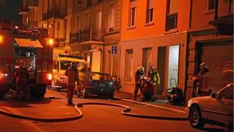 Es kam in letzter Zeit zu vermehrten Brandstiftungen in Zürich.