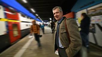 Auf dem Weg nach Liestal mit SVP-Regierungsratskandidat Thomas de Courten