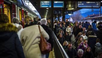 Dichtestress an Aargauer Bahnhöfen