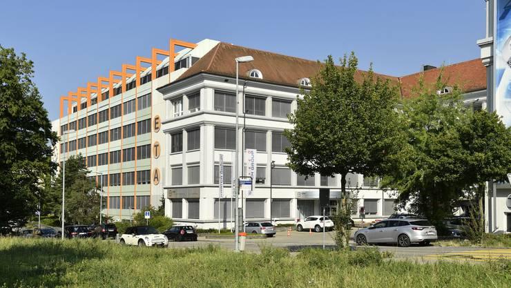 Hauptsitz der ETA mit Werk 1 an der Schild-Rust-Strasse.